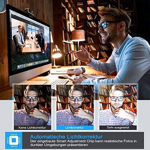 Niveoli PC Kamera - Automatische Lichtkorrektur