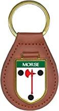 Morse Family Crest Coat of Arms Key Chains