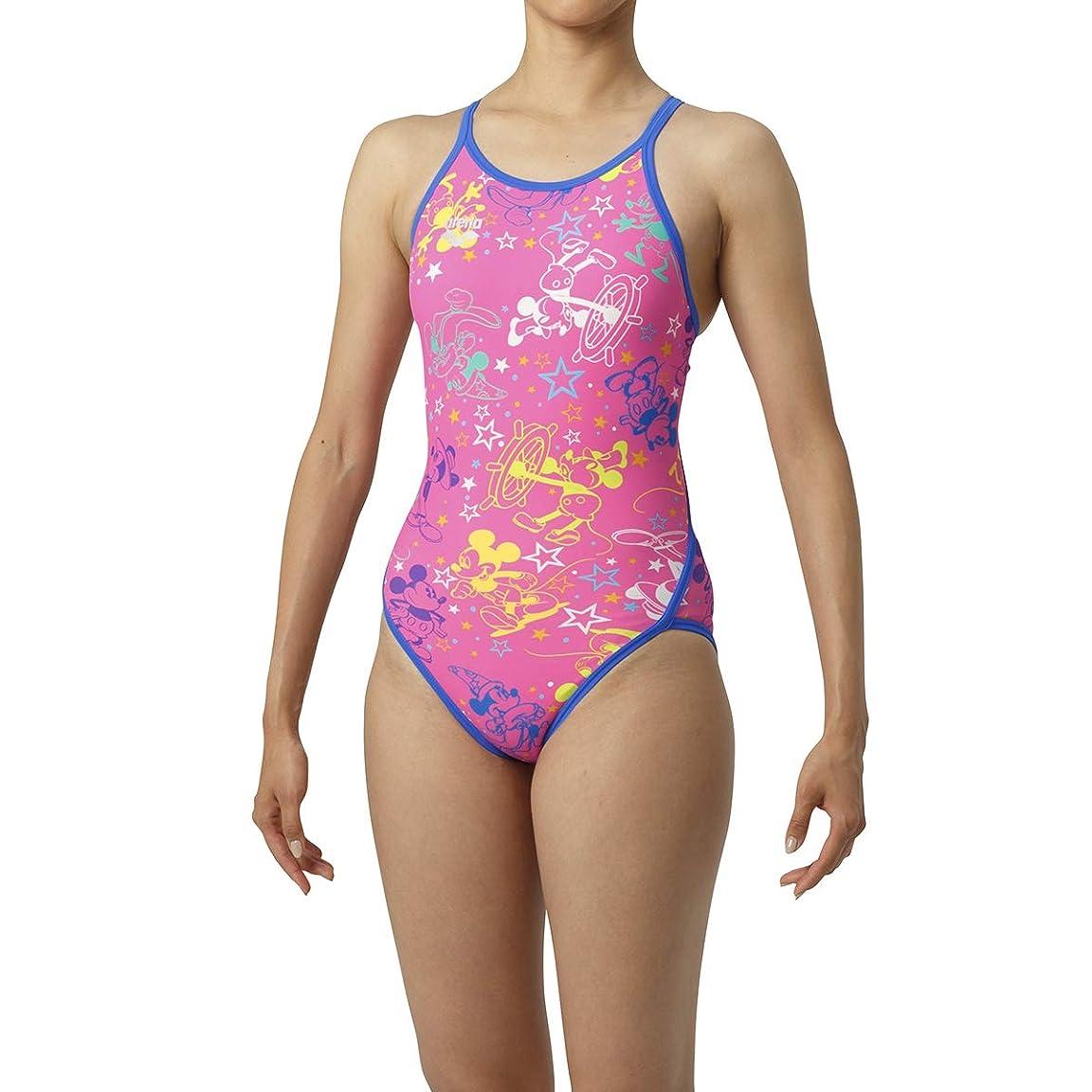 指令麻酔薬グラディスarena(アリーナ) ディズニー トレーニング 競泳用 水着 スーパーフライバック DIS-9303W