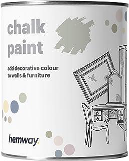 Hemway - Kreidefarbe für Möbel & Wände - matt - renoviert - 1 Liter - Pistaziengrün