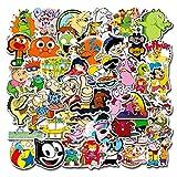 90s Cartoon Stickers| 50 PCS | Vinyl Waterproof Stickers for Laptop,Bumper,Skateboard,Water Bottles,Computer,Phone, Anime Stickers for Adult Teens Kids(90s Cartoon) (90s Cartoon Sticker)