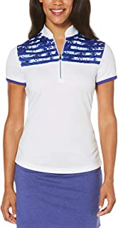 PGA TOUR Womens Golf Fitness Pullover Top White L