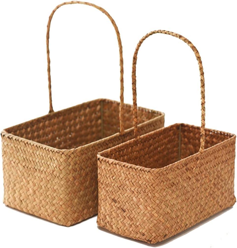 Picnic Baskets Outdoor New sales Picking Sale item Family C Gathering Basket
