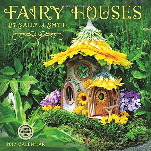 Fairy Houses 2017 Wall Calendar