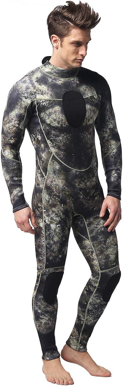Wetsuits Mens 3MM Camo Neoprene Scuba Diving Sport Skin Spearfishing Full Wet Suit