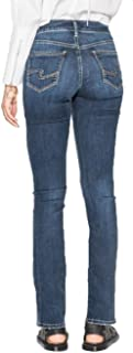 Silver Jean's Co. Women's Avery Curvy Fit High Rise Slim Bootcut Jeans