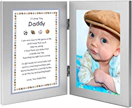 Sweet Poem for New Dad from Baby Son for Birthday or Christmas - Add Photo