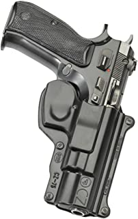 Fobus CZ75 9mm Roto-Holster Belt, Black, 2 1/4