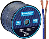 InstallGear 14 Gauge AWG 500ft Speaker Wire True...