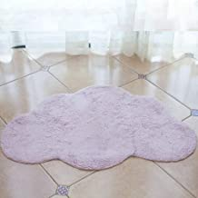 Cloud Carpet Cotton Children's Floor Mat Living Room Study Cushion Photography Prop Rugs White Pink Gray,2