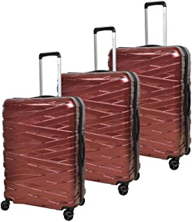 Magellan Hardside spinner luggage Set of 3 pieces -Red