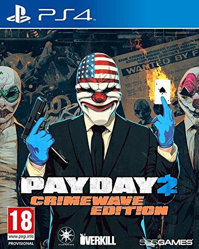 JEU Console 505 Spiele Payday 2 CRIMEWAV.ED PS4