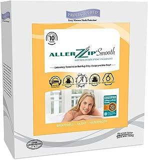 Protect-A-Bed AllerZip Smooth Mattress Encasement, Queen