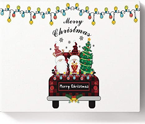 Painting By Number Kit DIY Paint Number Christmas Canvas Paint Oil Decorations