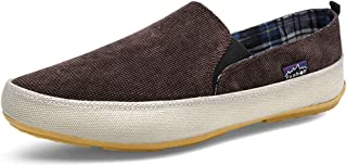 Spesoul Mens Fashion Sneakers Casual Canvas Slip On Dress Loafers Shoes