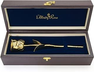 24k Gold-Dipped Natural Rose 11.5