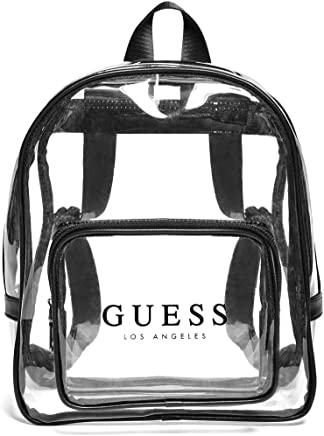 GUESS Factory Womens Clear Logo Backpack