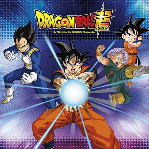 Dragon Ball Super 2020 Wall Calendar