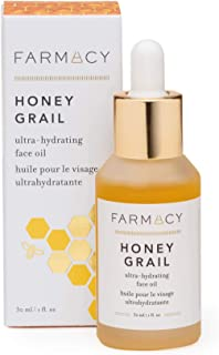 Sponsored Ad - Farmacy Honey Grail Hydrating Face Oil Moisturizer for Dry Skin, Fine Lines & Wrinkles with Rosehip and Sea...