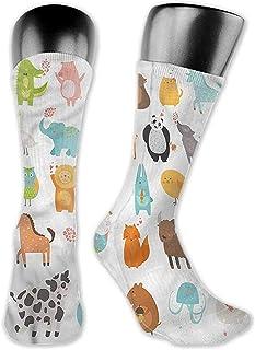 Dydan Tne, Mujeres Hermosas Coloridas Calcetines niños, diseño de Caballos de carrusel de Dibujos Animados