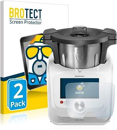 BROTECT Protection Ecran Mat pour Silvercrest Monsieur Cuisine Connect [2 Pièces] - Anti-Reflet, Anti-Rayures