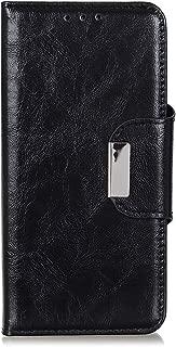 Compatible with BQ Vsmart Active 1 Plus Case, FugouSell Premium PU Leather Flip Folio Wallet Case [Kickstand/Card Slot/Slim Fit] with Magnetic Absorption for BQ Vsmart Active 1 Plus