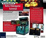 Die FRANZIS Abenteuer-Box Retro-Videogame-Automat: Der Mini-Arcade-Spielautomat für das Wohnzimmer! Mit spannendem Erlebnisbuch | Ab 8 Jahre