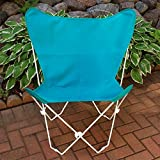 Algoma Net Butterfly Chair and Cover Combination w/White Frame