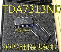 1ピース/ロット100%新品とオリジナルTDA7313 TDA7313D TDA7313ND SOP-28在庫あり