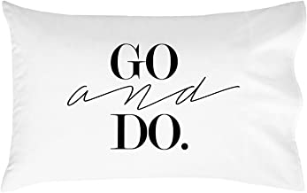 Oh, Susannah Go and Do Pillow Case (One 20x30 Standard/Queen Size Pillowcase) Graduation Gifts College Fun Dorm Room Accessories Graduation Decorations LDS