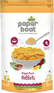 Paper Boat Pani Puri Pellets, Ready to Fry, No Added Colours and Preservatives (400g)