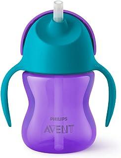Philips Avent Sugrörsmugg - Stör inte tändernas utveckling* - Spillfri ventil som förhindrar läckage - Lämplig från 9 m+ -...
