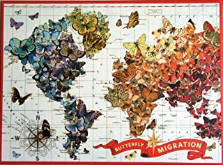 BUTTERFLY MIGRATION by wendy Gold 1000 Piece Jigsaw Puzzle