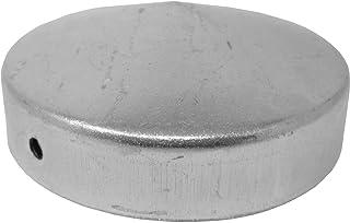 Pfostenkappe Zaunkappe rund aus Stahl für Pfosten 77 mm Durchmesser