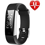 Fitness Tracker HR, Activity Tracker Watch with Heart Rate Monitor, Waterproof Smart Fitness Band...