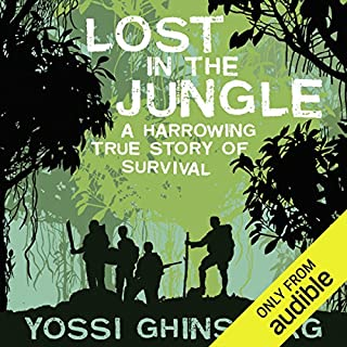 Lost in the Jungle audiobook cover art