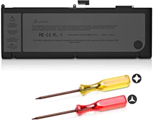 Replacement Battery for A1286 MacBook Pro 15 inch 2011 2012 Version Dreamme A1382 Battery Fit for MacBook Pro 15 Battery A1286 2011 2012 Version [10.95V/77.5Wh]