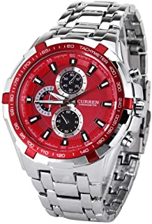 Curren Casual Watch For Men Analog Stainless Steel - 8023