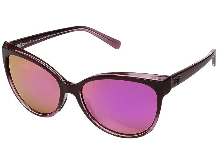 'Olu 'Olu (Burgundy Fade/Maui Sunrise) Fashion Sunglasses