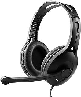 Gaming Headphone,Wired,USB, Black (K800 BK)(6923520224920)