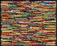 大人と子供のための木製パズル1000ピース-きちんとした鉛筆-ジグソーパズル箱入りビッグパズルスペシャルギフト