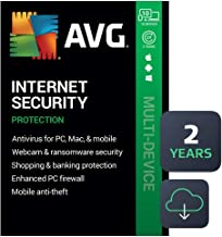 $89 » AVG Internet Security 2020 | Antivirus Protection Software | 10 Devices, 2 Years [PC/Mac/Mobile Download]