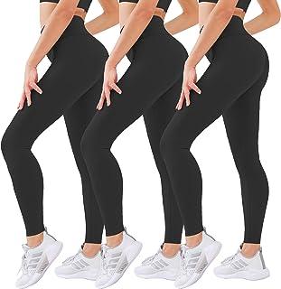Laite Hebe Leggings for Women - 3 Pack High Waist Yoga Pants for Women