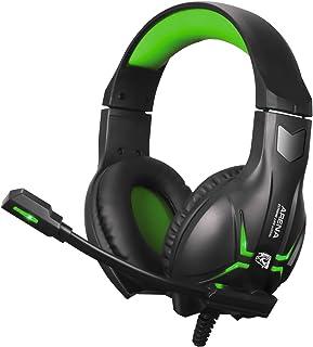 Headset Gamer Arena, Elg, Microfones e Fones De Ouvido, Preto