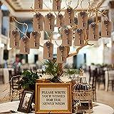 Awtlife, 50 Schlüssel-Flaschenöffner im Vintage-Stil mit Grußtasche für Hochzeitsgeschenke, 5 verschiedene Stile - 3
