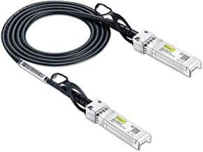 SFP+ DAC Twinax Cable, Passive, Compatible with Ubiquiti ES-48/ES-16-XG/USW-Pro-24-POE/USW-Pro-48-POE/US‑16‑XG/US‑48, 0.5 ...