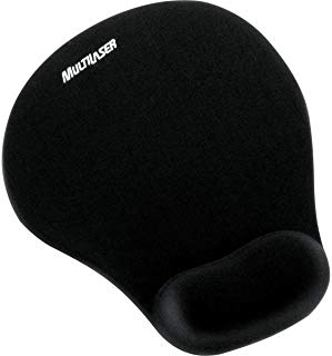 Mouse Pad com Apoio Gel Multilaser Pequeno AC021
