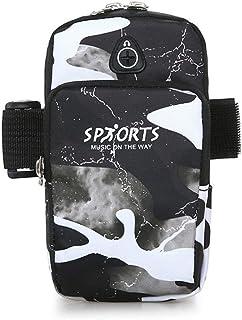 Qiyun Wallet Unisex Mobile Phone Arm Bag Nylon Running Outdoor Sports Cellphone Wrist Bag