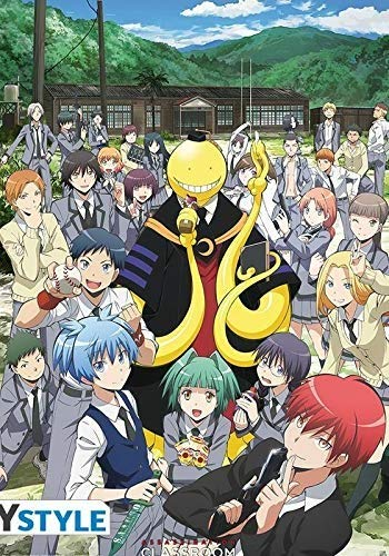 ABYstyle - ASSASSINATION CLASSROOM - Poster - Gruppe (91.5x61)