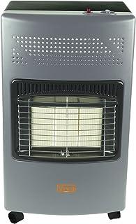 VINCO 71406 VIN71406 -Estufa de Gas con Panel infrarrojo, 4200W, Blanco, 36x 41x 72cm